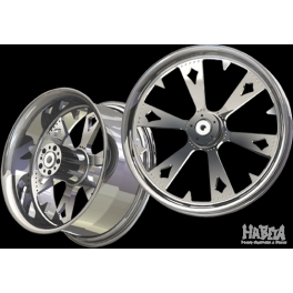 "FELGA MODEL RETRIBUTION 18/8.5"" HARLEY, CHOPPER, DRAG"