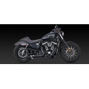 Vance & Hines Shortshots STAGGERED- czarne